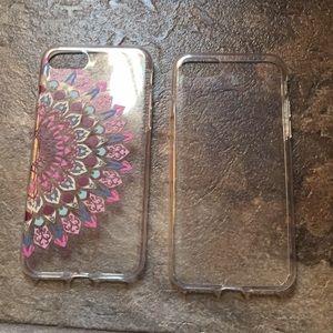 2 iPhone 7/8 cases